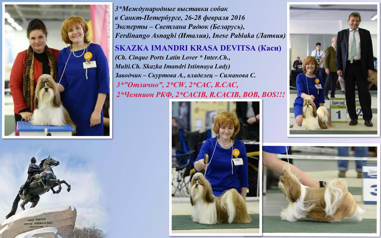 Международные выставки, 26-28 февраля 2016. г. Санкт-Петербург