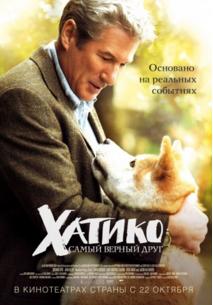 Лучшие фильмы про собак. Хатико, 2008 год, драма