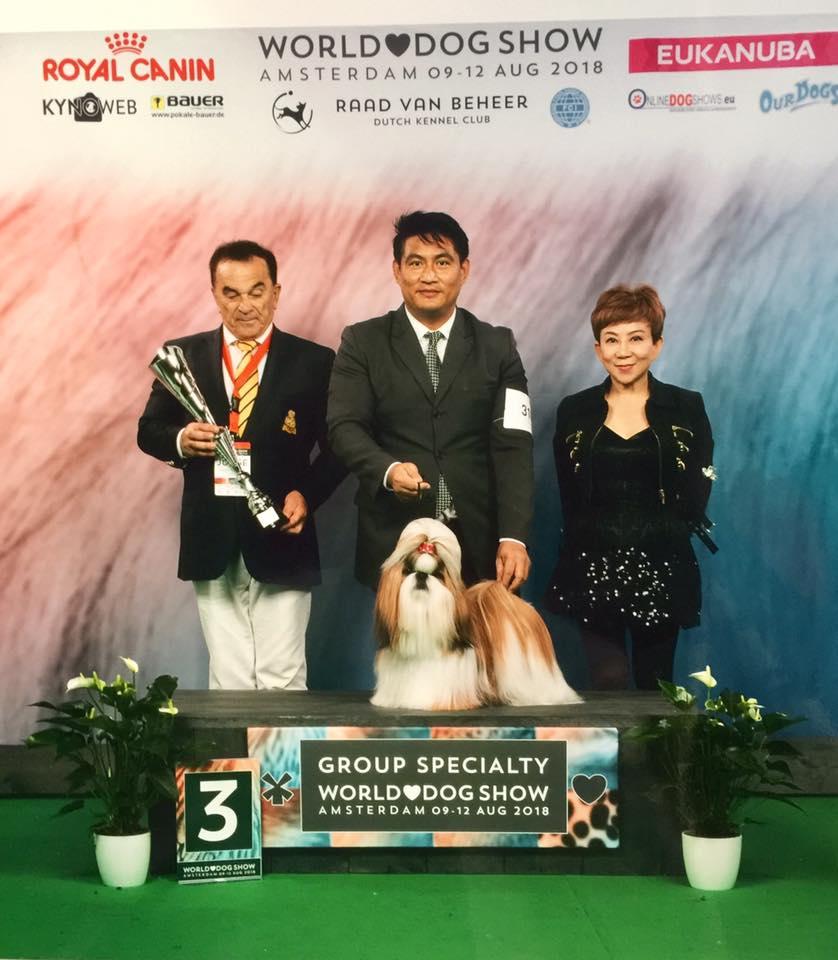 Hearty Secret Of Love. Specialities dog show в рамках Чемпионата Мира 2018