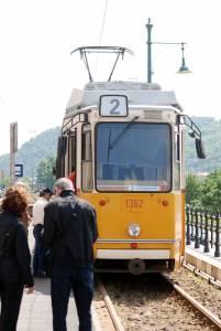 Трамвайчик в Будапеште