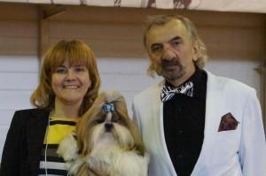 """11.10.2015. Выставка собак """"Империя звезд"""". Наши результаты с Каси"""