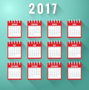 Календарь монопородных выставко Ши Тцу в 2017 году